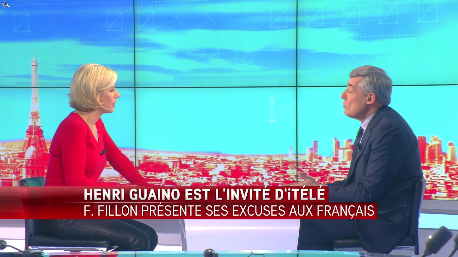 Laurence Ferrari dans le Direct Ferrari. Diffusé à la télévision le 06/02/17.
