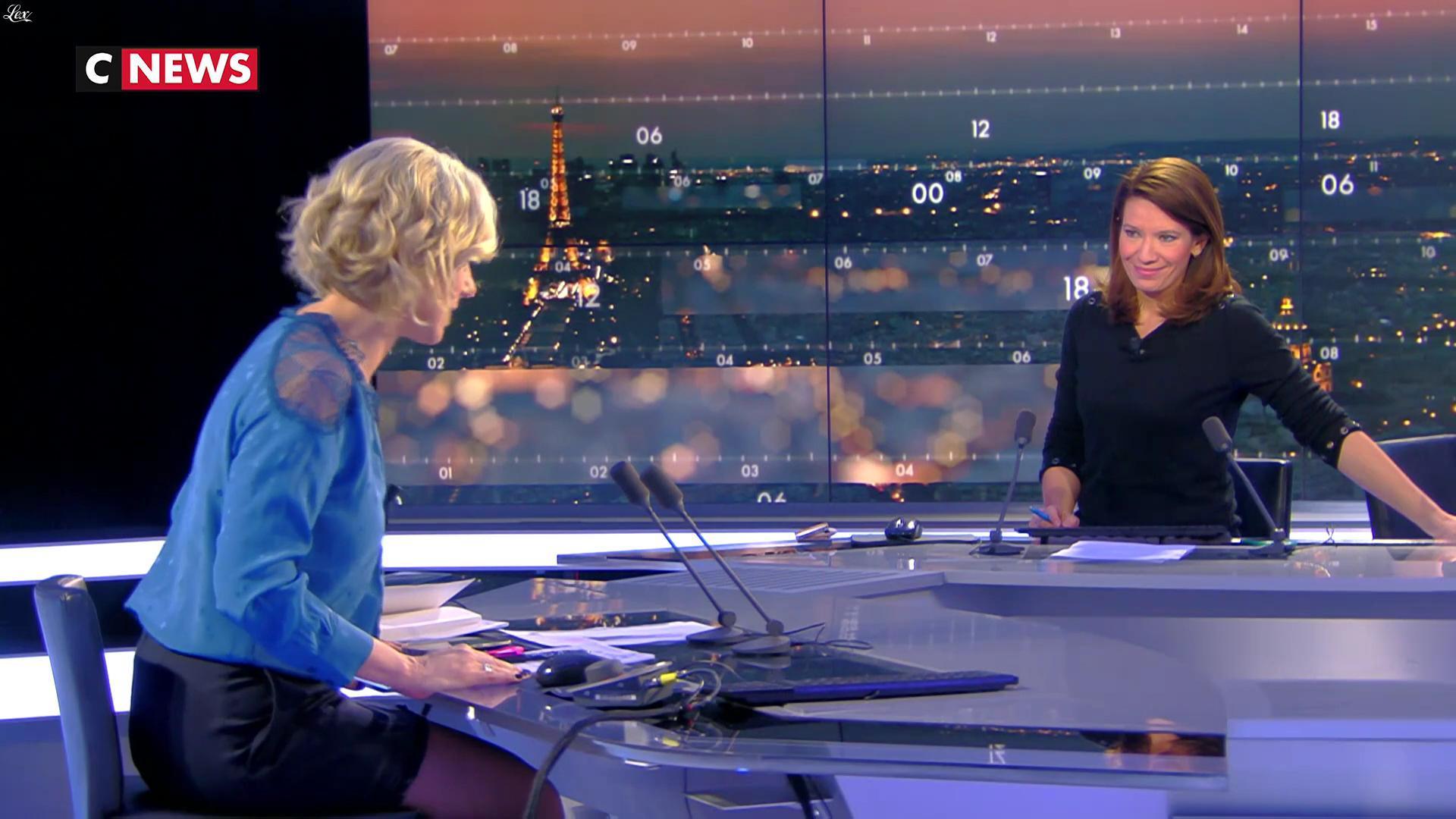 Laurence Ferrari dans le Direct Ferrari. Diffusé à la télévision le 09/03/17.