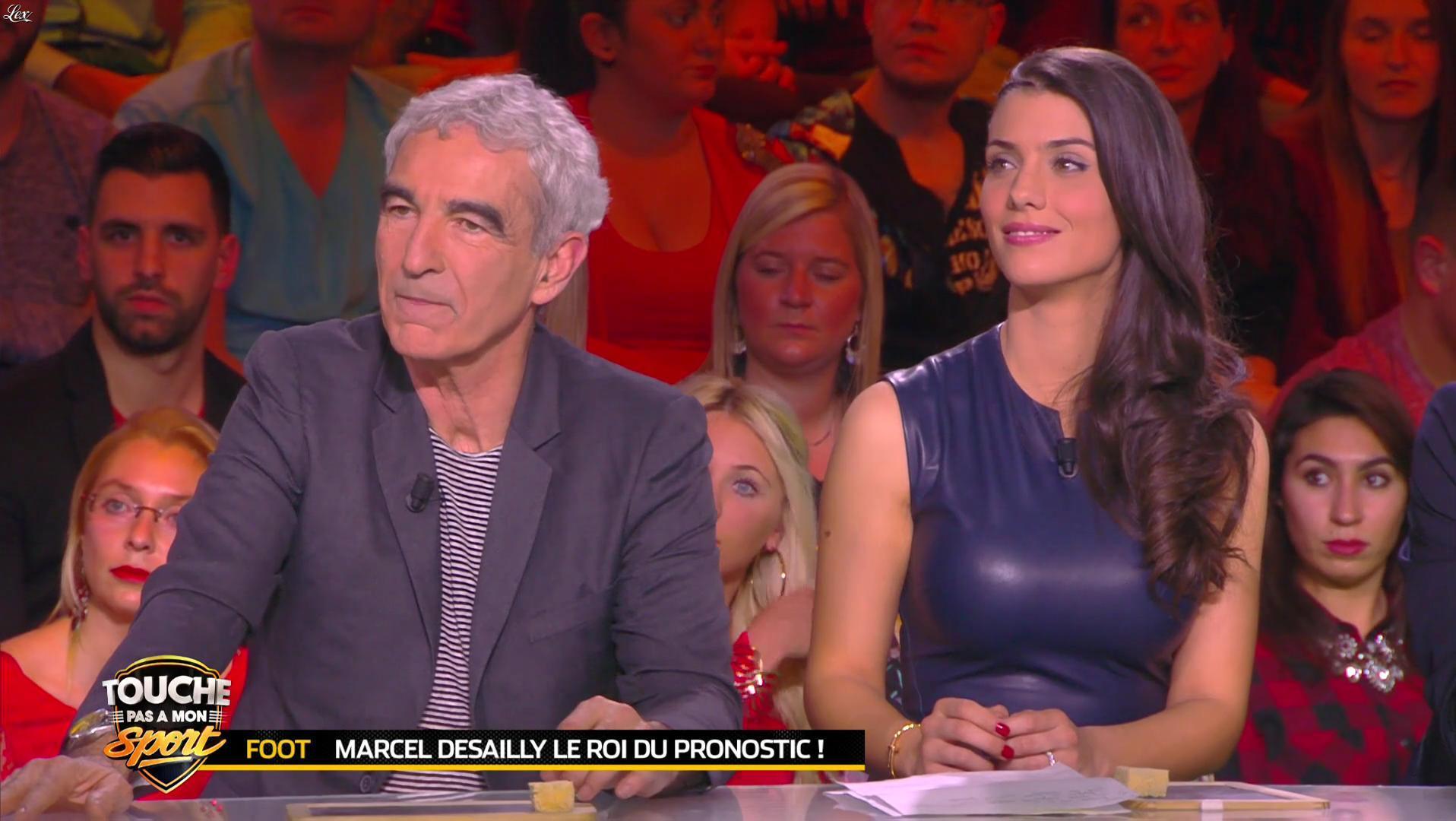 Ludivine Sagna dans Touche pas à mon Sport. Diffusé à la télévision le 07/03/16.