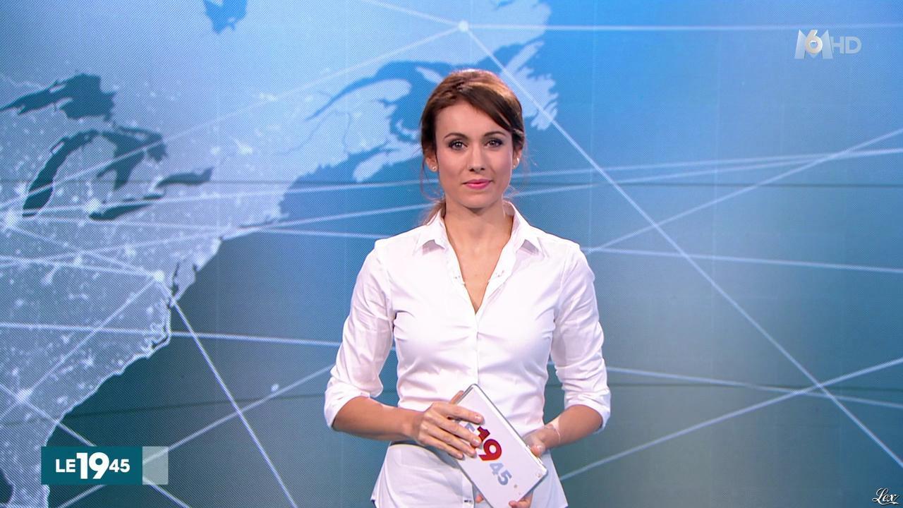 Marie-Ange Casalta dans le 19-45. Diffusé à la télévision le 22/12/15.