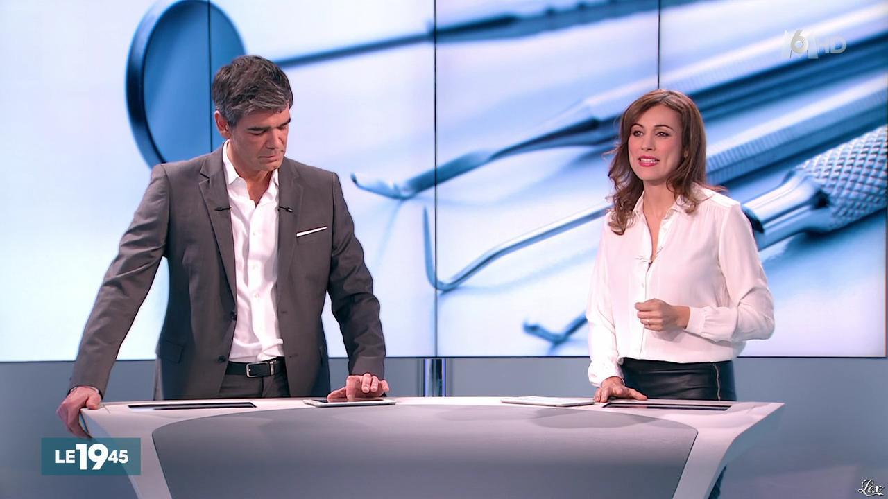 Marie-Ange Casalta dans le 19-45. Diffusé à la télévision le 29/03/16.