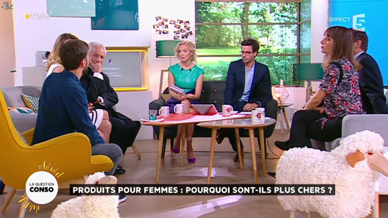 Maya Lauqué dans la Quotidienne. Diffusé à la télévision le 02/09/15.