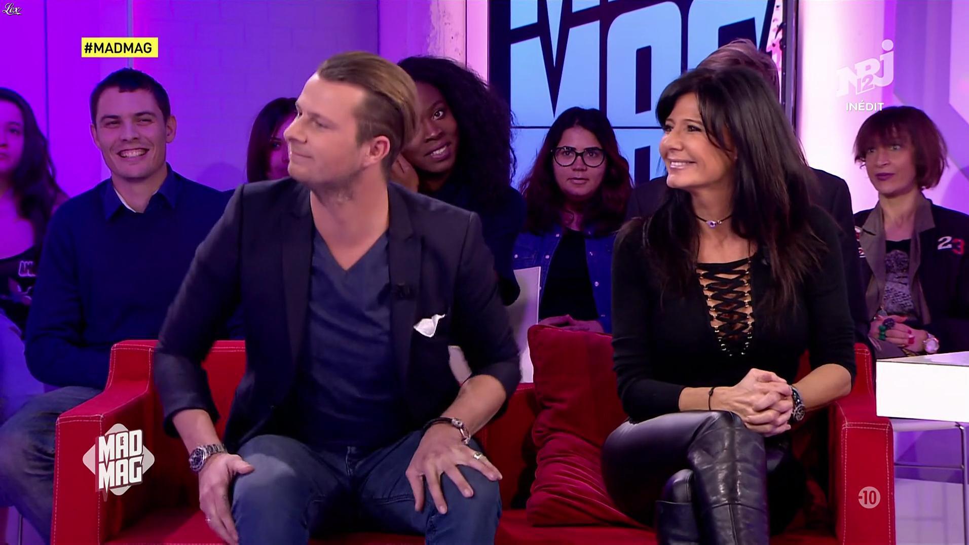 Nathalie dans le Mad Mag. Diffusé à la télévision le 19/01/17.