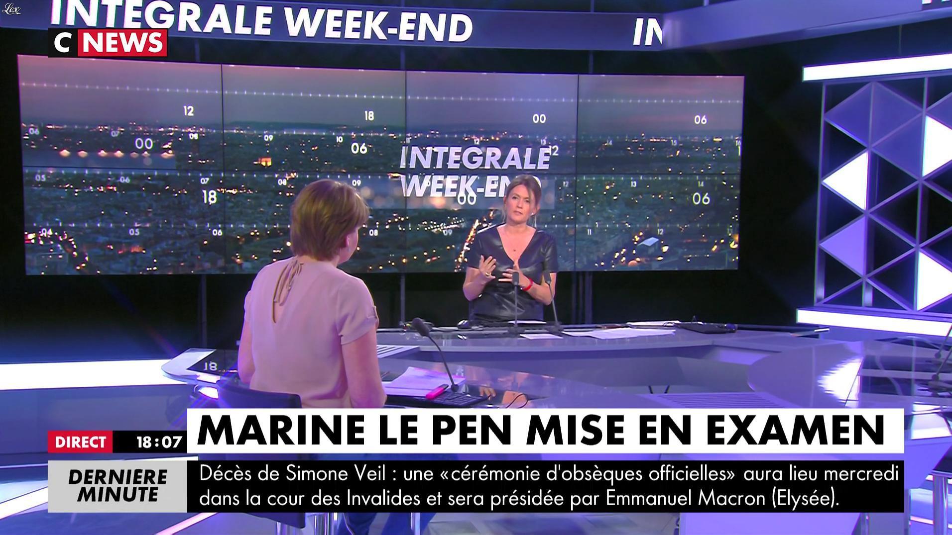 Nelly Daynac dans CNews. Diffusé à la télévision le 30/06/17.