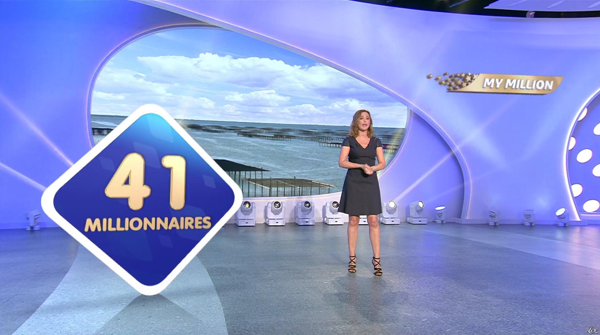 Sandrine Quétier dans My Million. Diffusé à la télévision le 23/05/17.