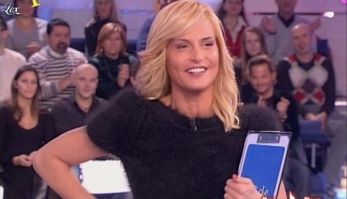 Simona Ventura dans Quelli Che. Diffusé à la télévision le 16/12/07.