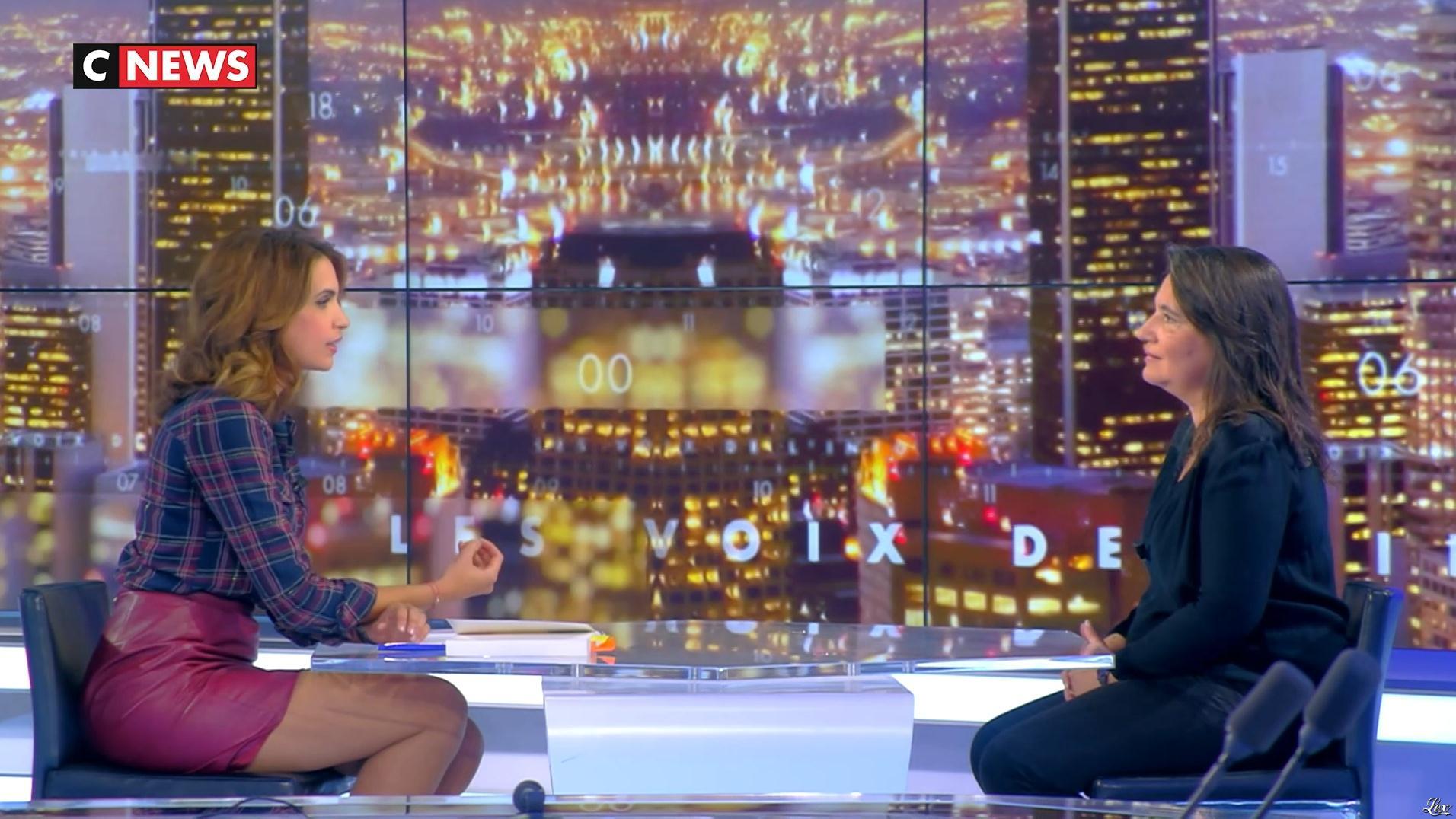 Sonia Mabrouk dans les Voix de l'Info. Diffusé à la télévision le 31/08/17.