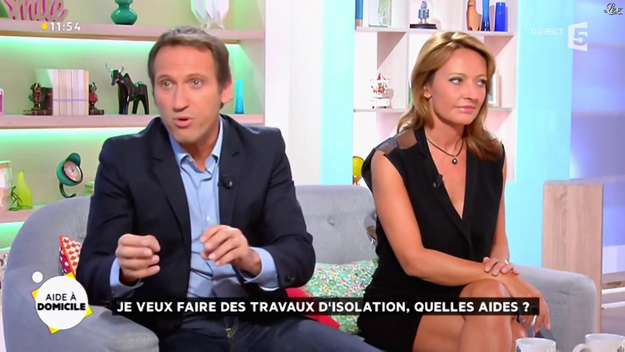 Valérie Durier dans la Quotidienne. Diffusé à la télévision le 16/09/14.