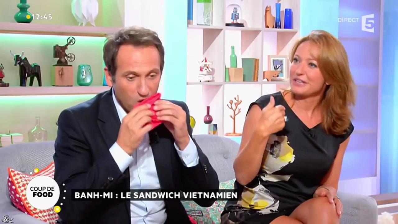Valérie Durier dans la Quotidienne. Diffusé à la télévision le 18/09/14.