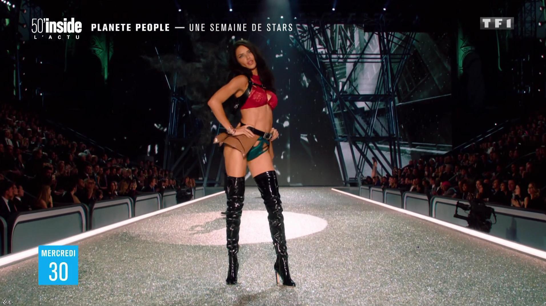 Adriana Lima dans 50 Minutes Inside. Diffusé à la télévision le 03/12/16.