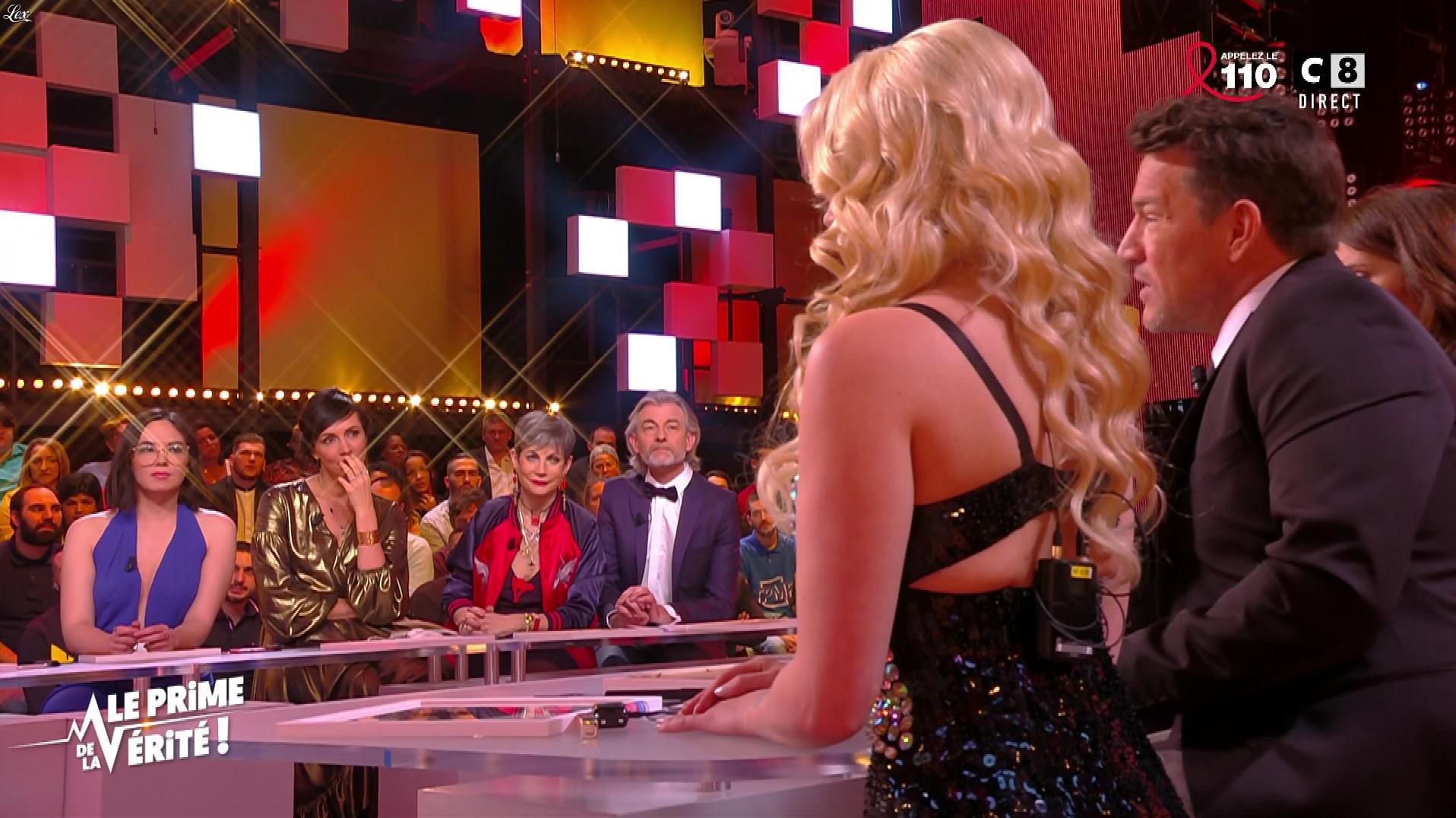 Agathe Auproux, Kelly Vedovelli et Géraldine Millet dans le Prime de la Verite. Diffusé à la télévision le 22/03/18.