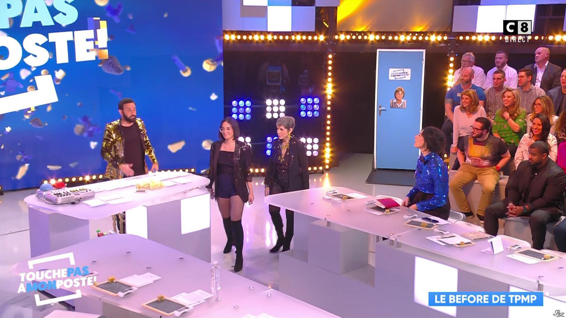 Agathe Auproux dans Touche pas à mon Poste. Diffusé à la télévision le 01/02/18.