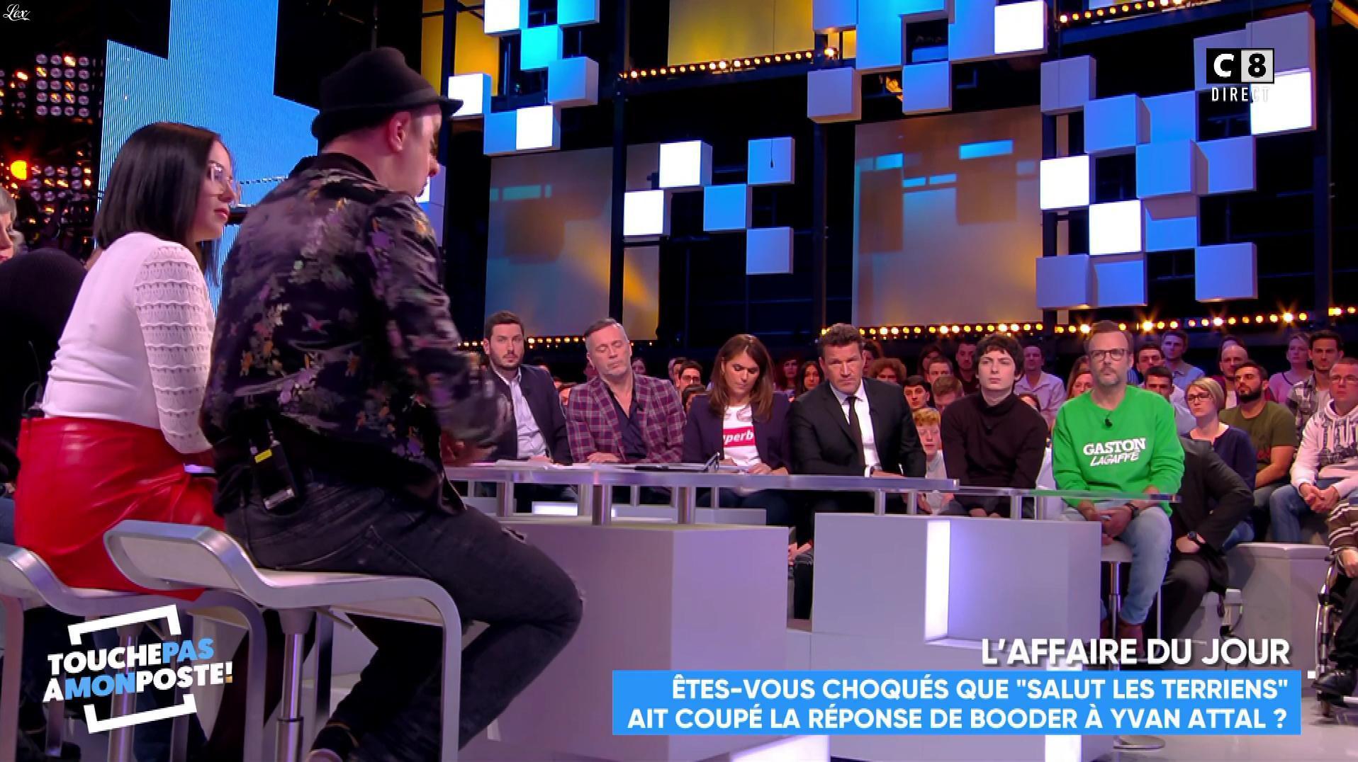 Agathe Auproux dans Touche pas à mon Poste. Diffusé à la télévision le 03/04/18.
