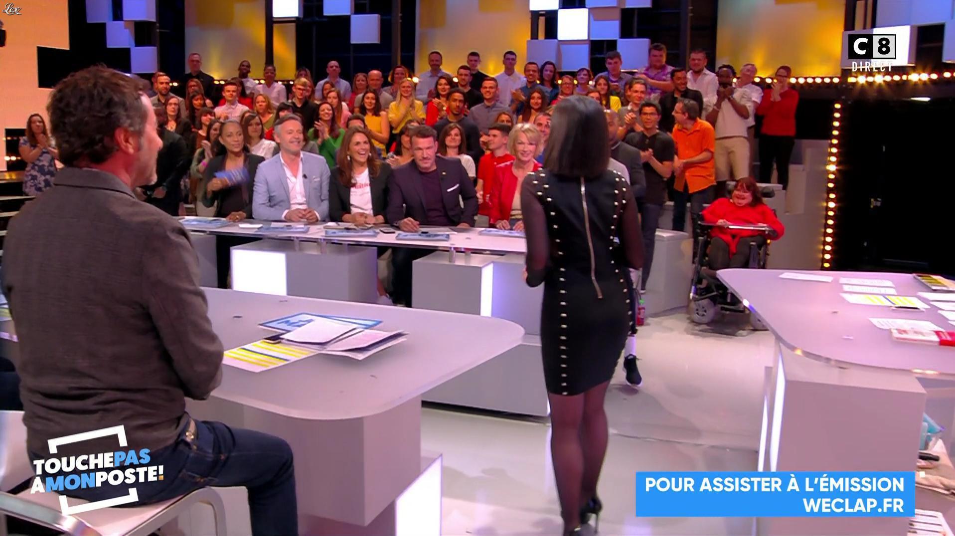 Agathe Auproux dans Touche pas à mon Poste. Diffusé à la télévision le 03/05/18.