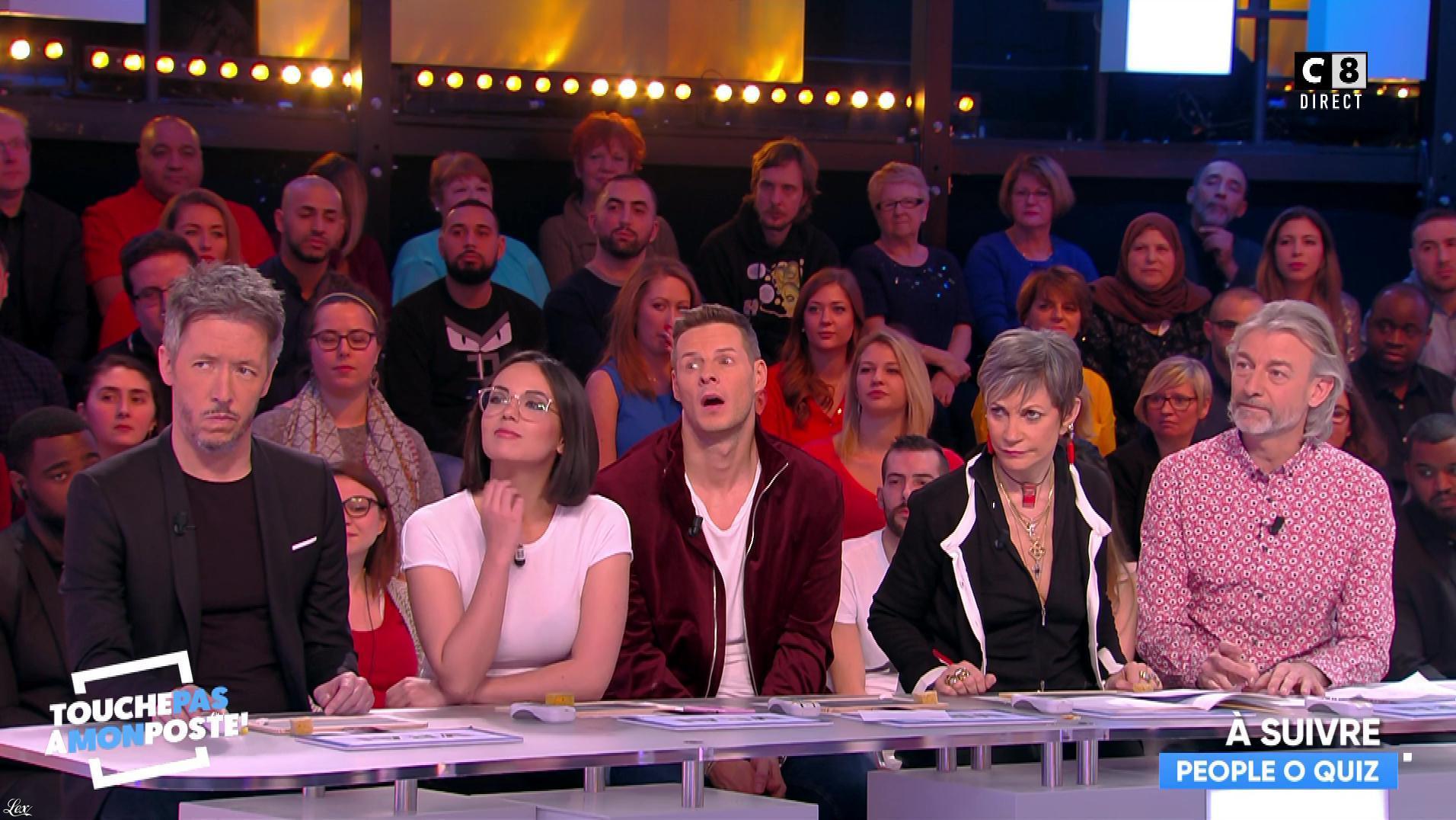 Agathe Auproux dans Touche pas à mon Poste. Diffusé à la télévision le 05/02/18.