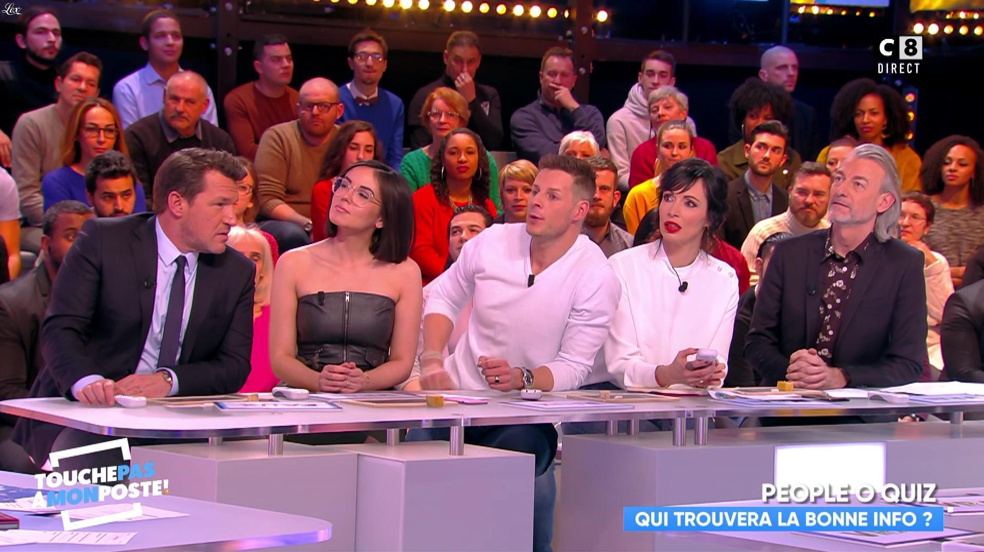 Agathe Auproux dans Touche pas à mon Poste. Diffusé à la télévision le 06/02/18.