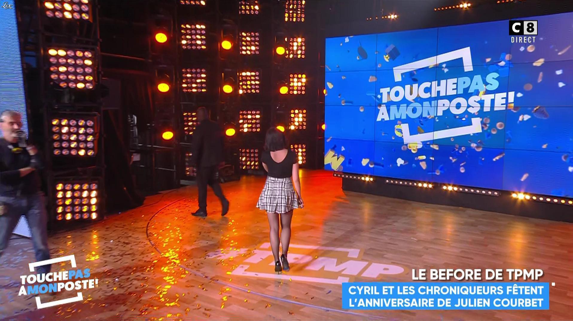Agathe Auproux dans Touche pas à mon Poste. Diffusé à la télévision le 07/02/18.