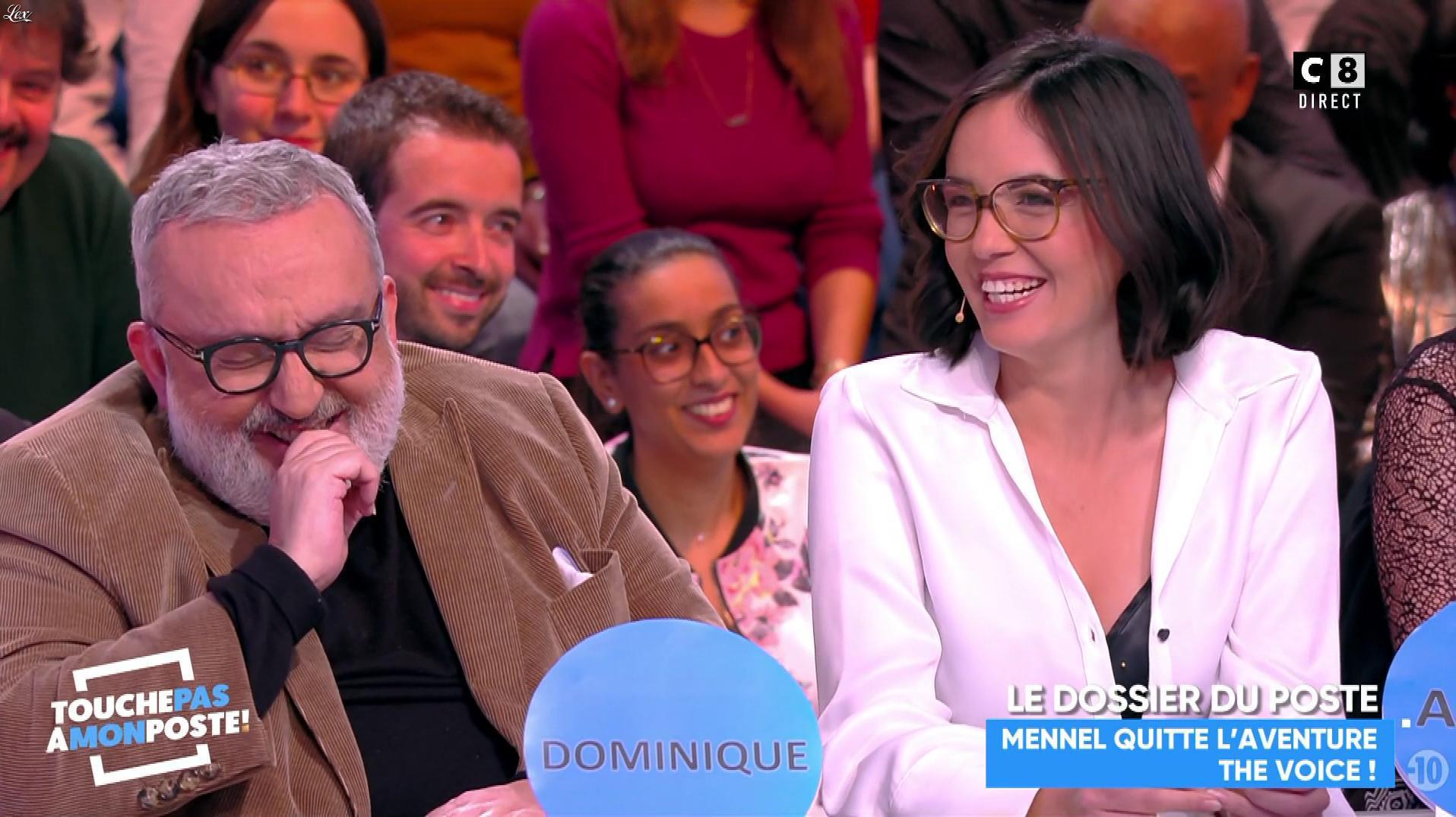 Agathe Auproux dans Touche pas à mon Poste. Diffusé à la télévision le 09/02/18.