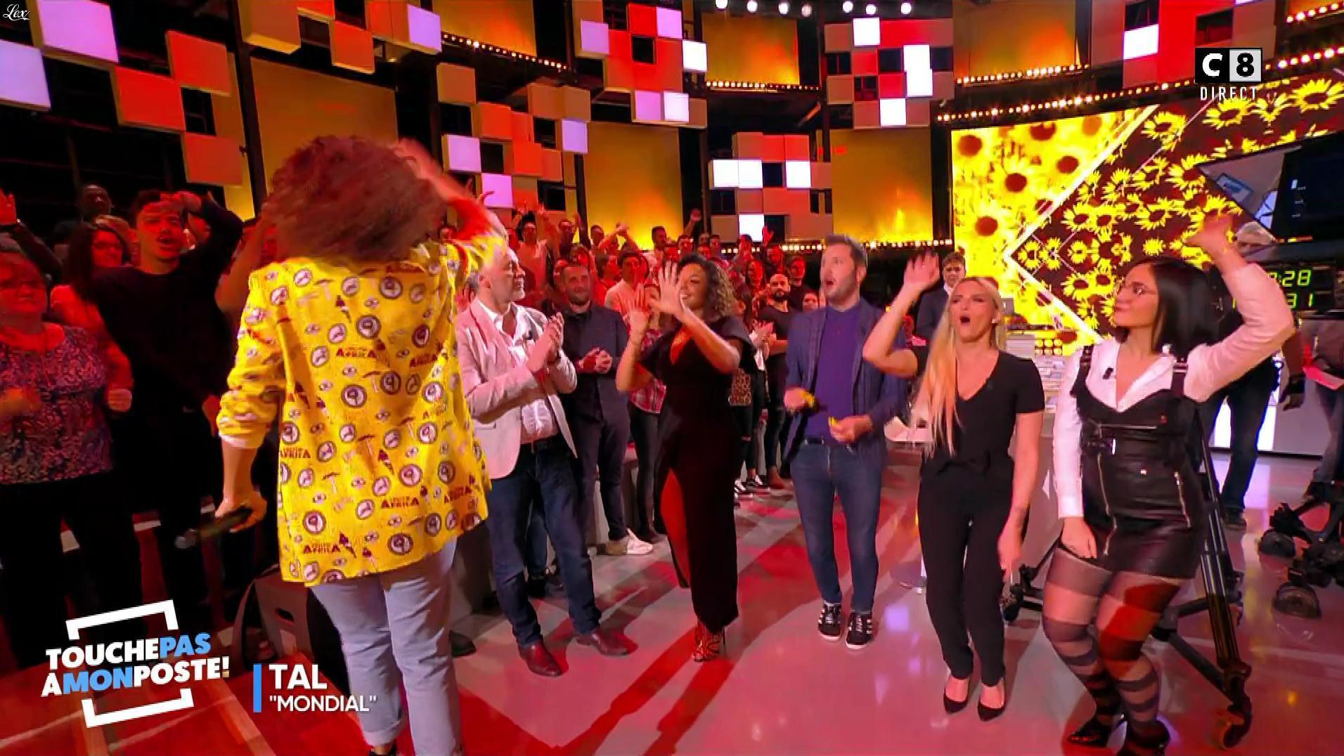 Agathe Auproux dans Touche pas à mon Poste. Diffusé à la télévision le 14/03/18.