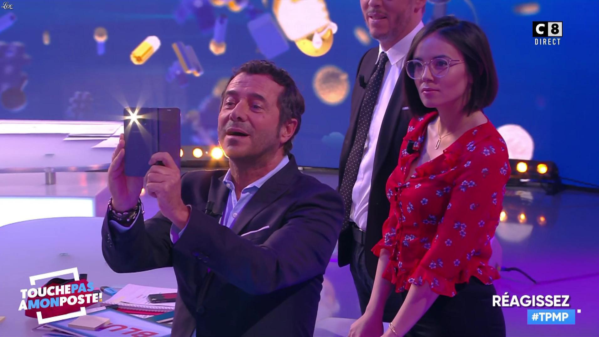Agathe Auproux dans Touche pas à mon Poste. Diffusé à la télévision le 17/01/18.
