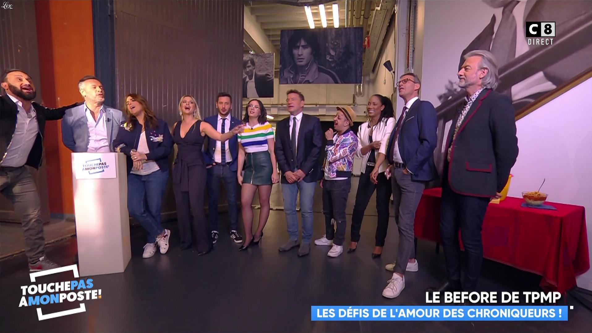 Agathe Auproux dans Touche pas à mon Poste. Diffusé à la télévision le 17/04/18.