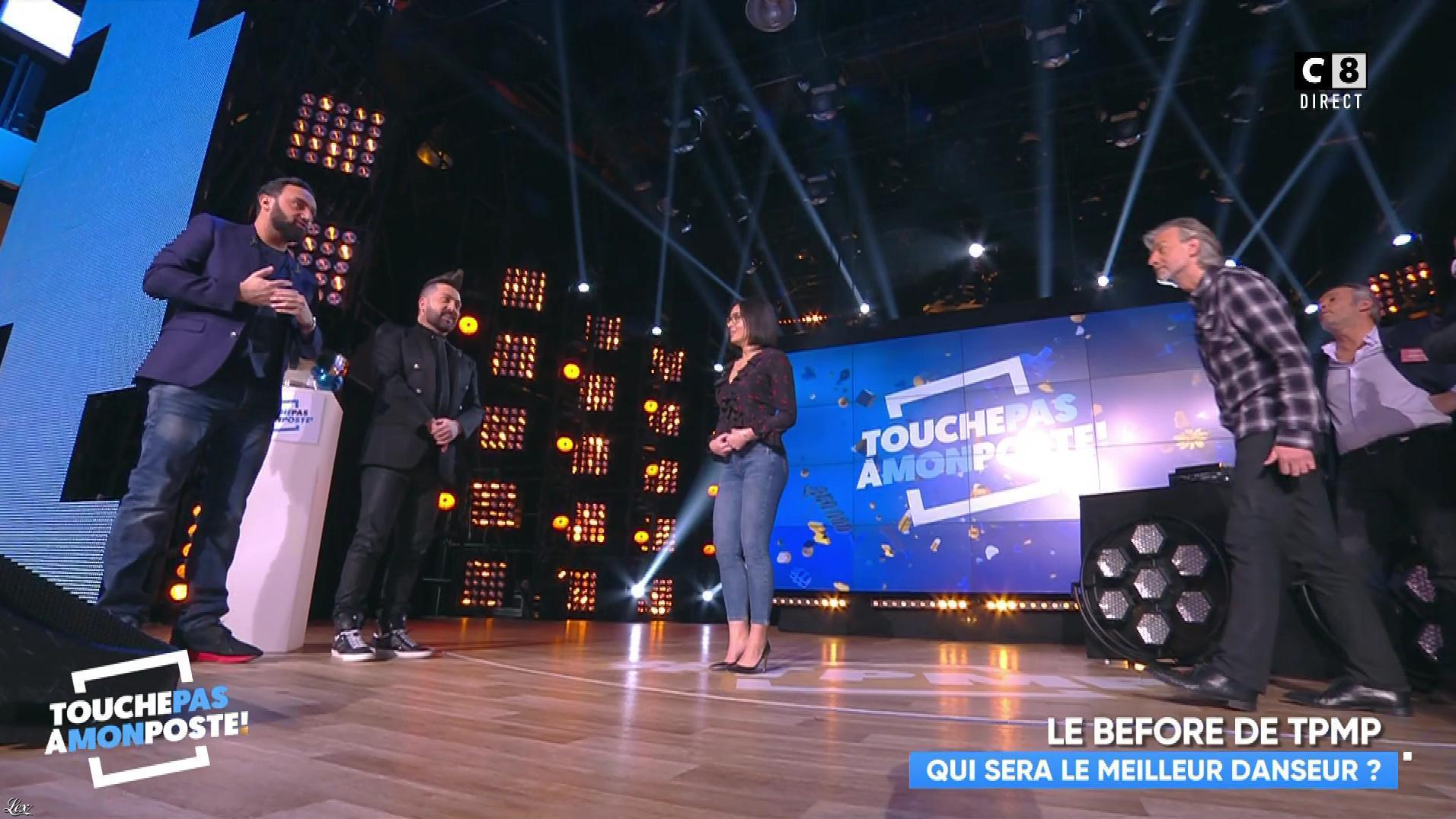 Agathe Auproux dans Touche pas à mon Poste. Diffusé à la télévision le 24/01/18.