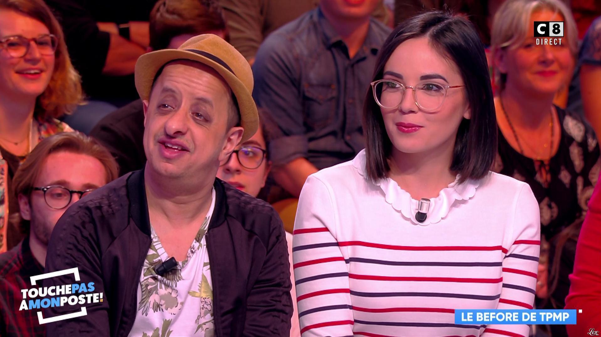 Agathe Auproux dans Touche pas à mon Poste. Diffusé à la télévision le 27/03/18.