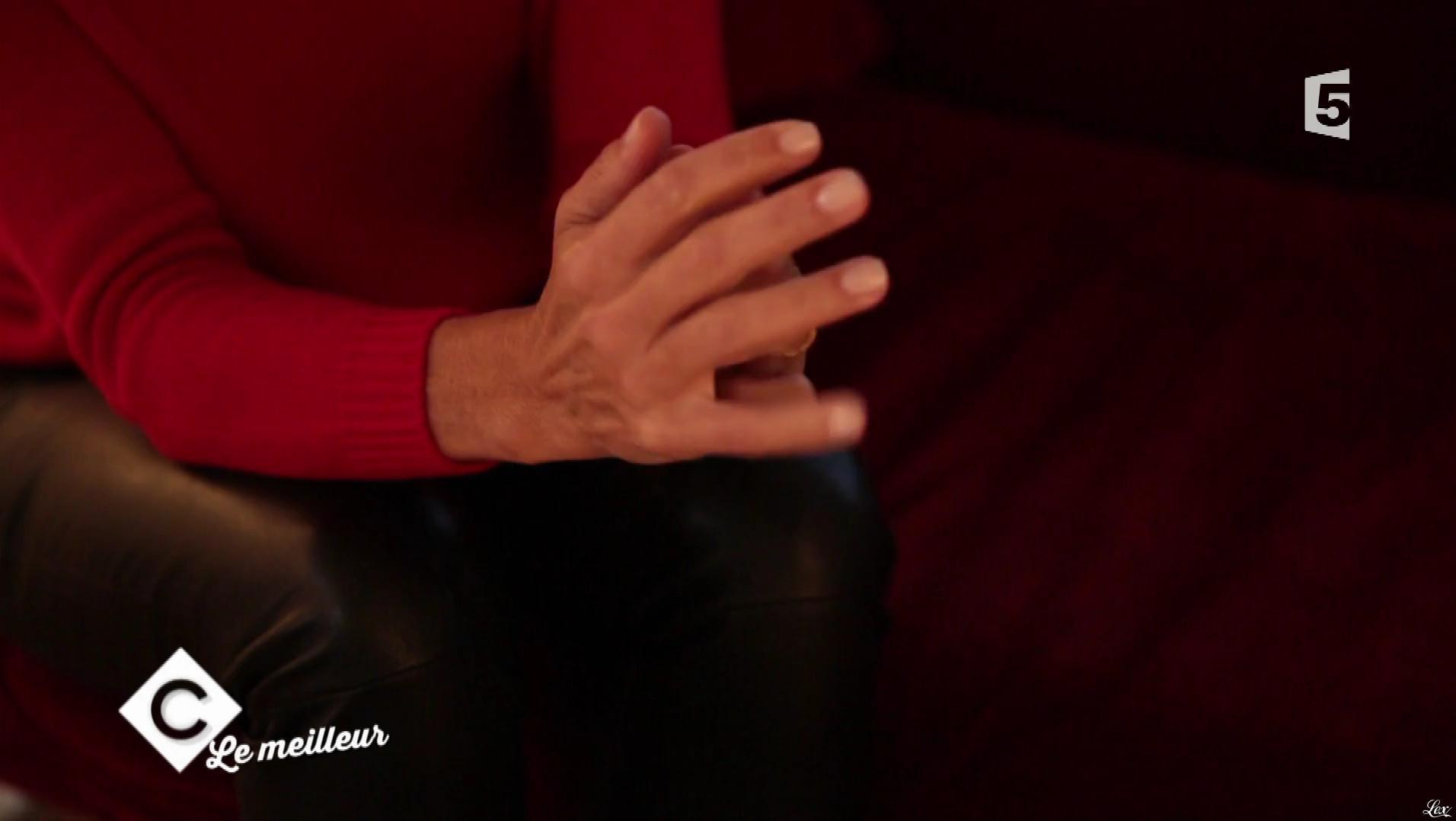 Alessandra Sublet dans C à Vous. Diffusé à la télévision le 25/12/17.