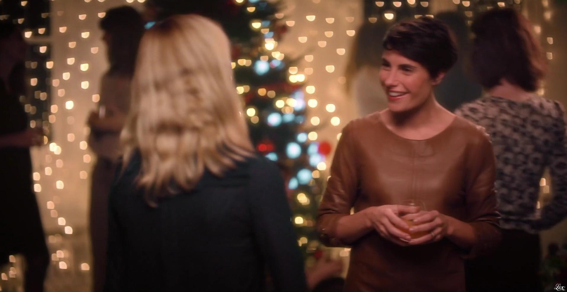 Alessandra Sublet dans Spot pour la Sécurité Routière. Diffusé à la télévision le 26/12/17.