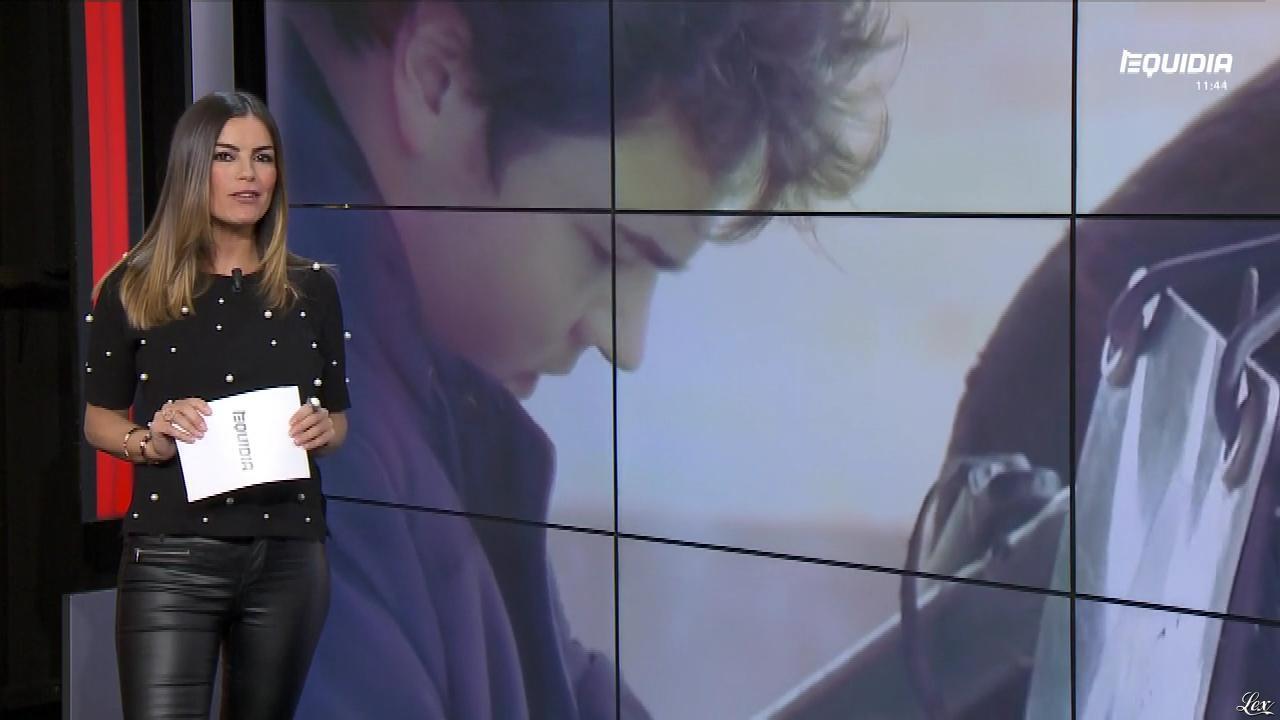 Amélie Bitoun dans le Grand Direct. Diffusé à la télévision le 03/04/18.
