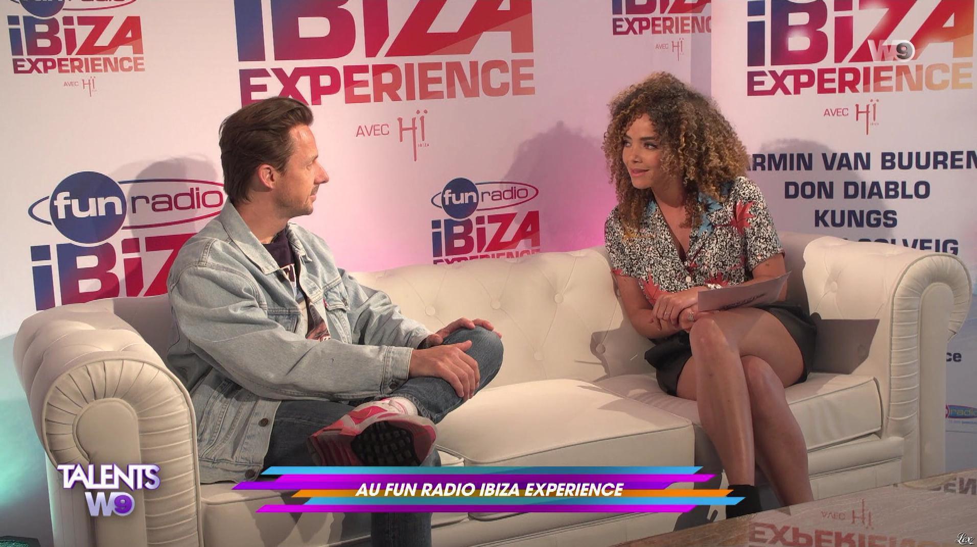 Anais Grangerac dans Talents W9. Diffusé à la télévision le 05/05/18.