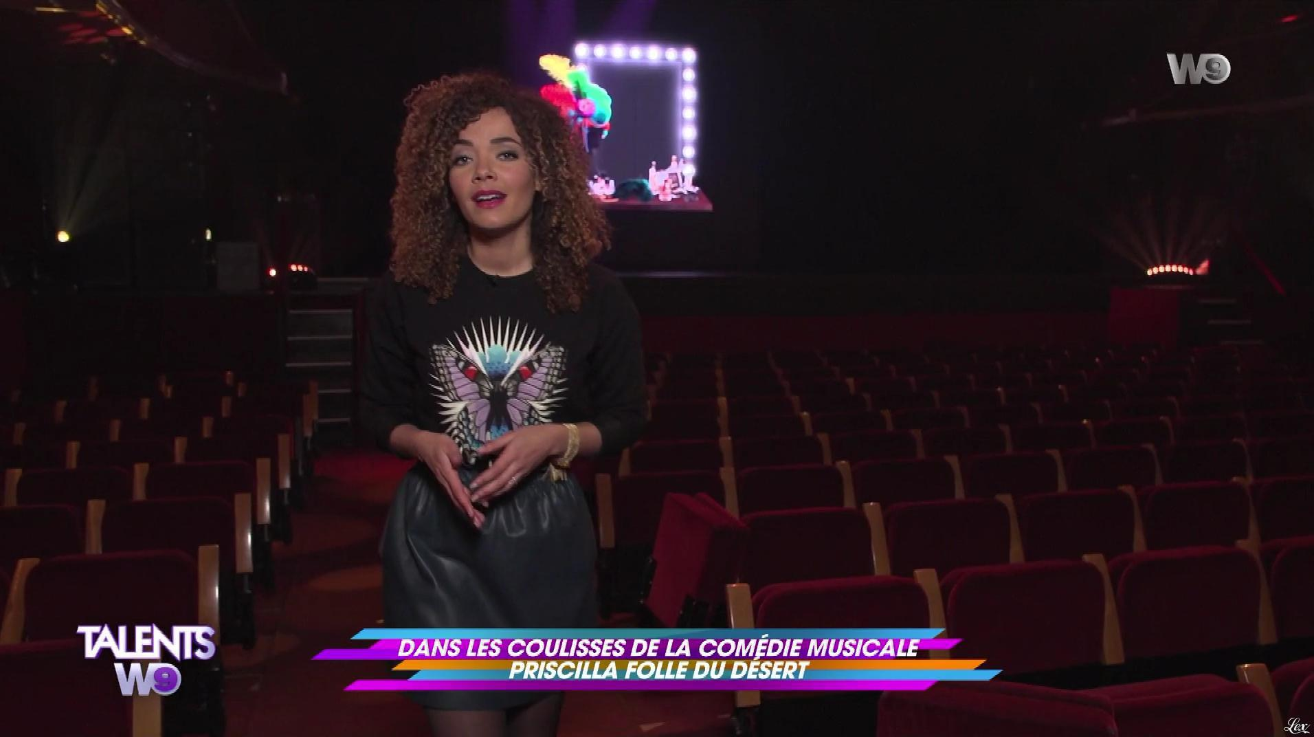 Anaïs Grangerac dans Talents W9. Diffusé à la télévision le 10/03/18.