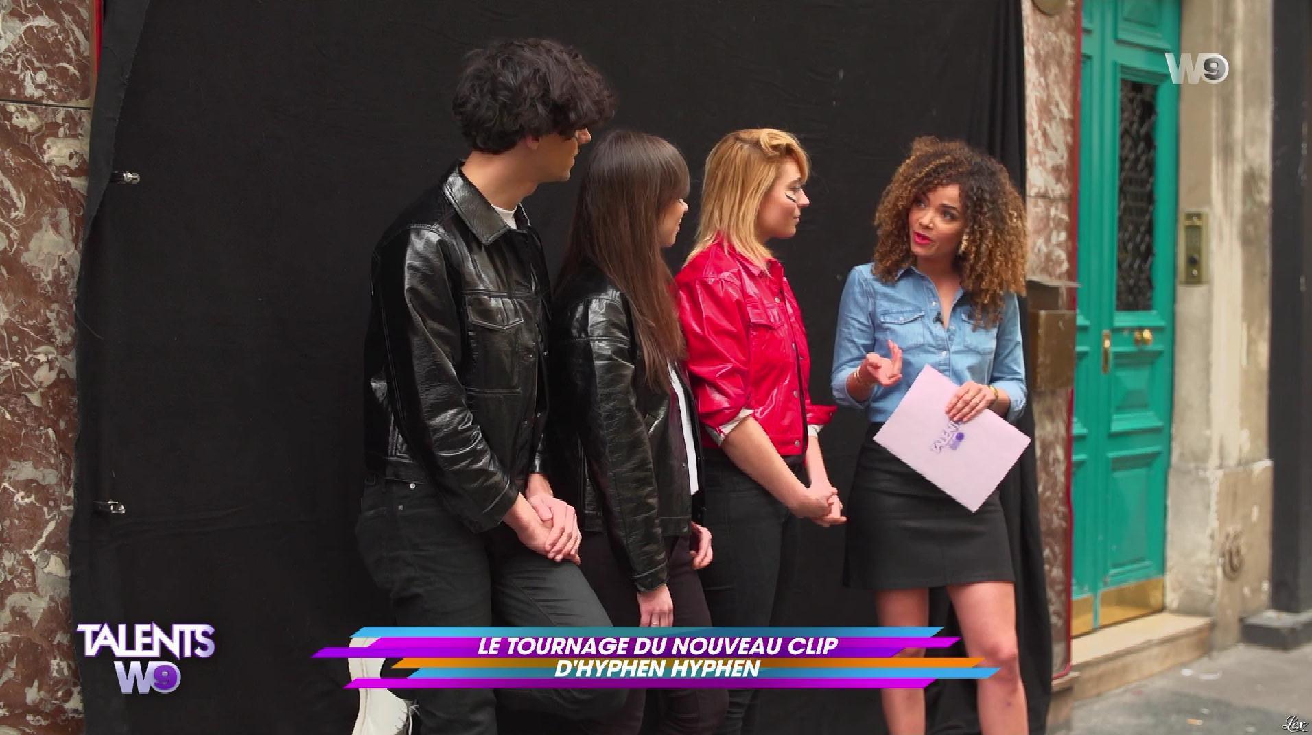 Anaïs Grangerac dans Talents W9. Diffusé à la télévision le 12/05/18.
