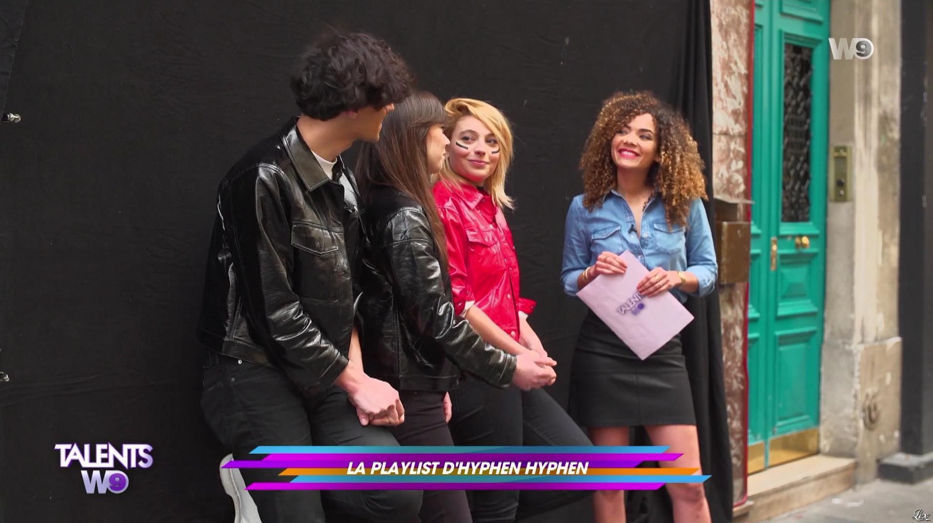 Anais Grangerac dans Talents W9. Diffusé à la télévision le 12/05/18.