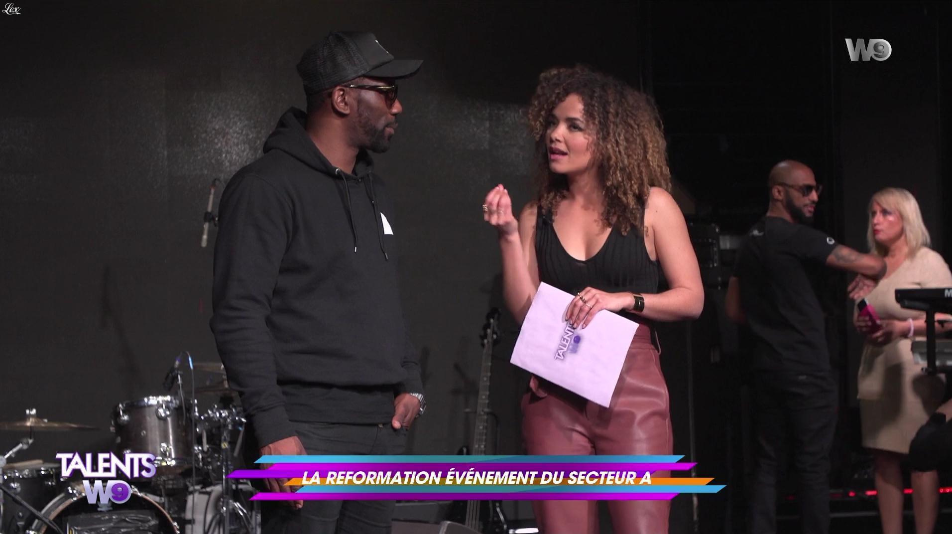 Anais Grangerac dans Talents W9. Diffusé à la télévision le 28/04/18.