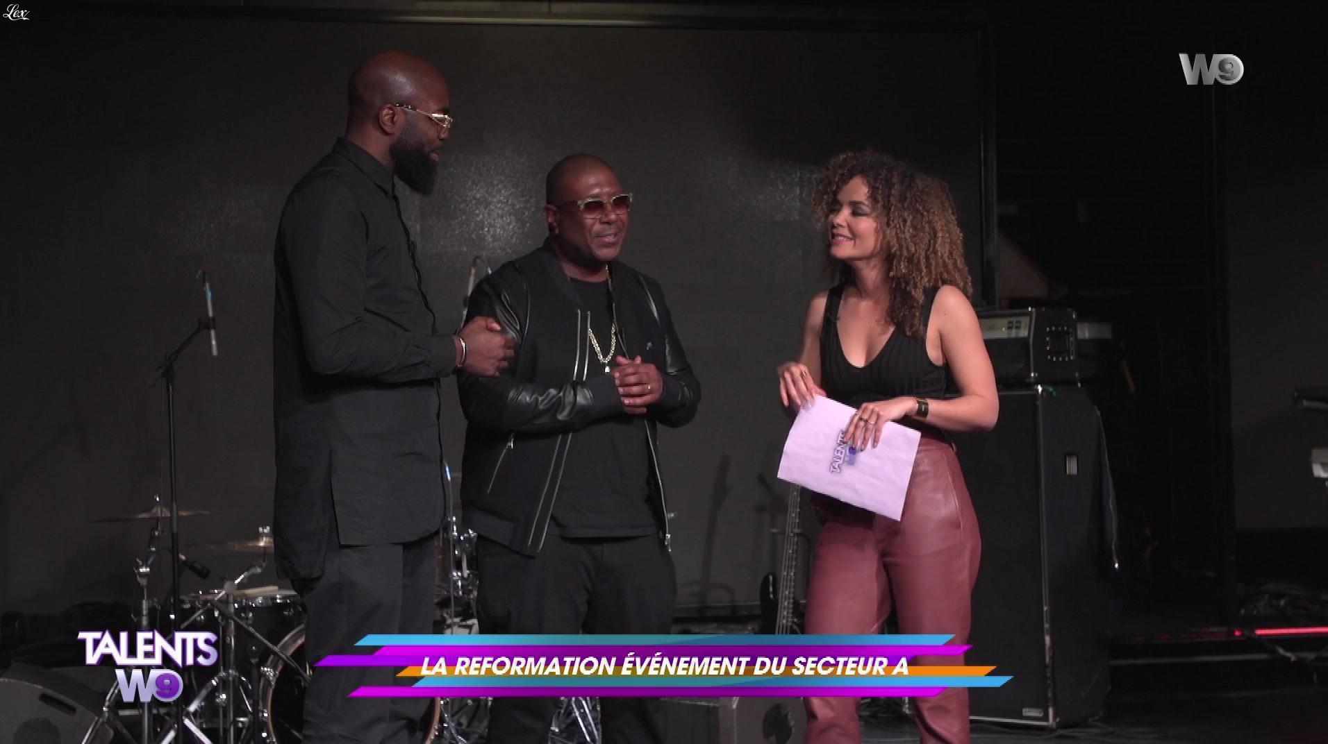 Anaïs Grangerac dans Talents W9. Diffusé à la télévision le 28/04/18.