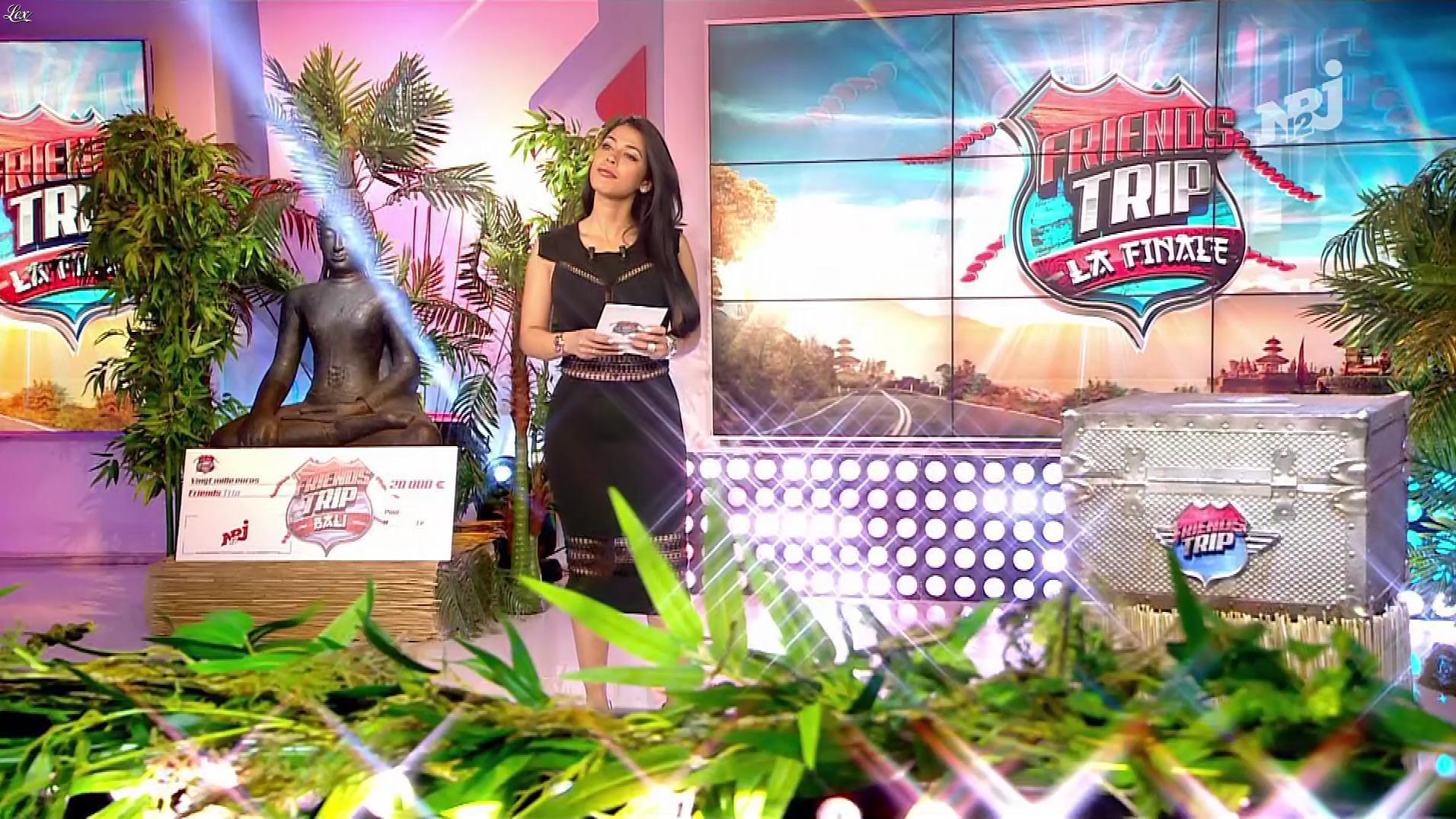 Ayem Nour dans la Finale de Friends Trip. Diffusé à la télévision le 23/02/18.