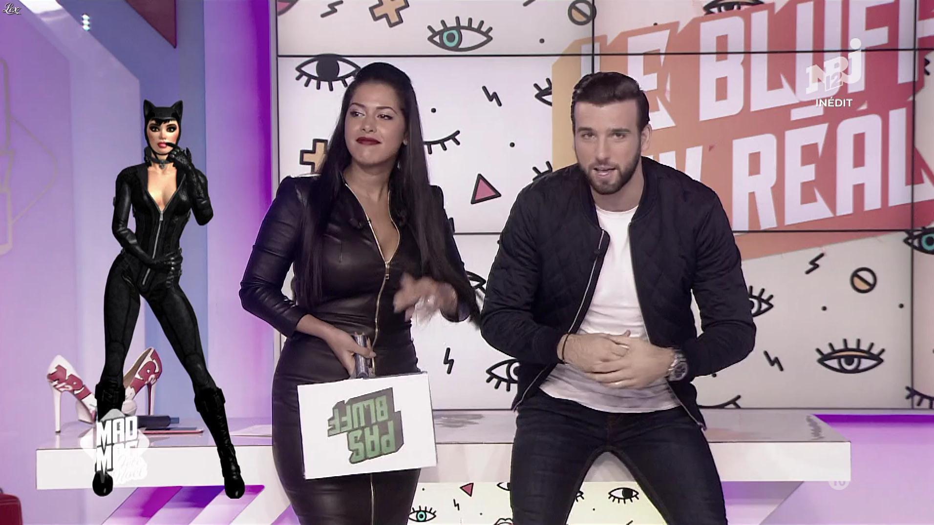Ayem Nour dans le Mad Mag. Diffusé à la télévision le 25/12/17.