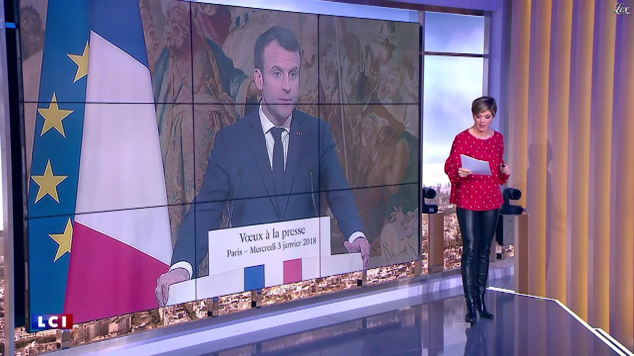 Bénédicte Le Chatelier dans 24h le Week-End. Diffusé à la télévision le 06/01/18.