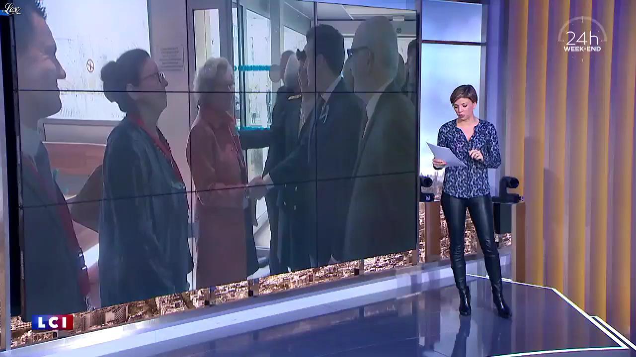 Benedicte Le Chatelier dans 24h le Week-End. Diffusé à la télévision le 07/04/18.