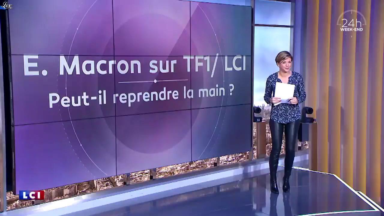 Bénédicte Le Chatelier dans 24h le Week-End. Diffusé à la télévision le 07/04/18.