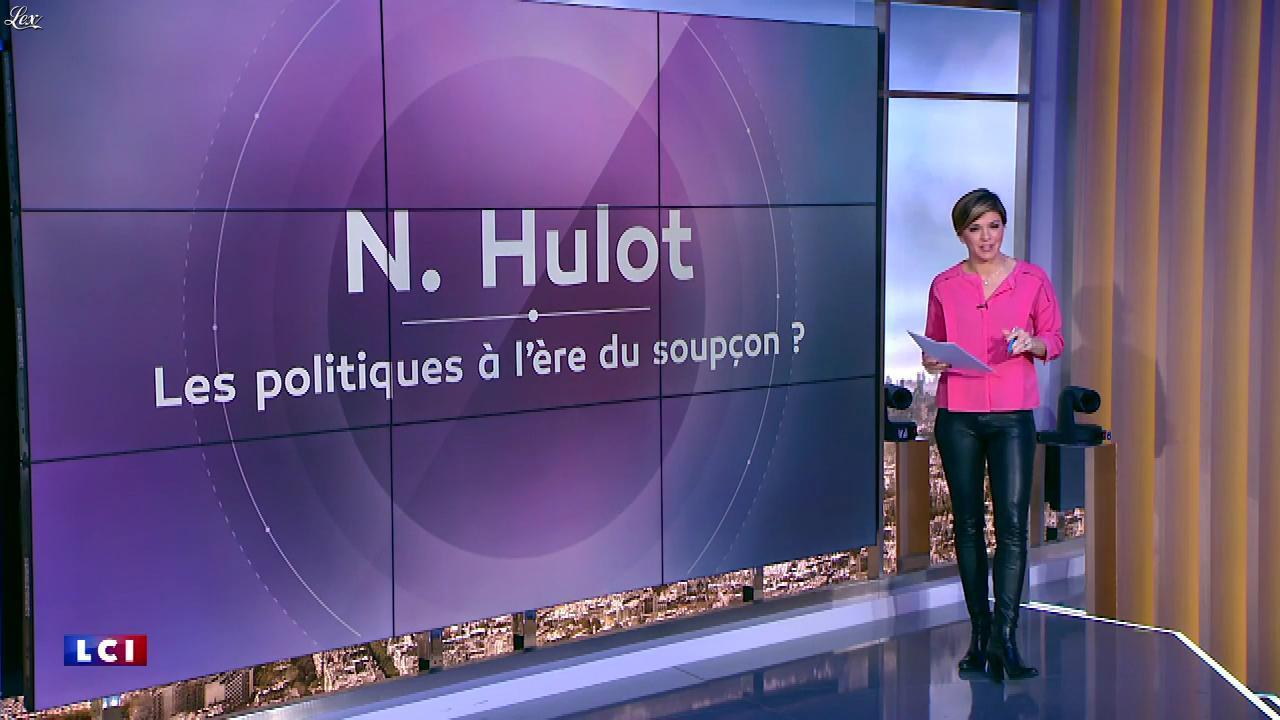 Bénédicte Le Chatelier dans 24h le Week-End. Diffusé à la télévision le 10/02/18.