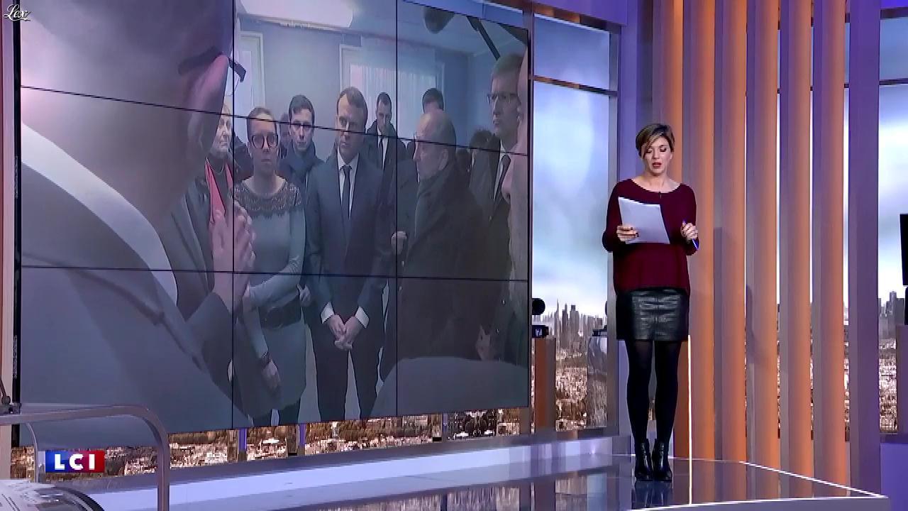 Benedicte Le Chatelier dans 24h le Week-End. Diffusé à la télévision le 20/01/18.