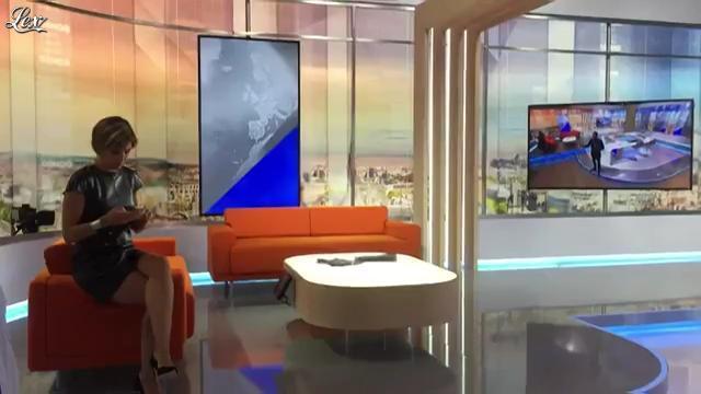 Bénédicte Le Chatelier dans Coulisses de LCI. Diffusé à la télévision le 31/08/16.