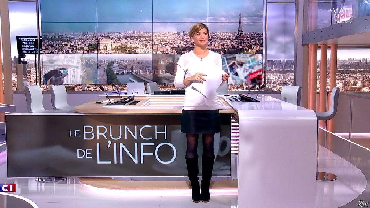Bénédicte Le Chatelier dans le Brunch. Diffusé à la télévision le 04/11/17.