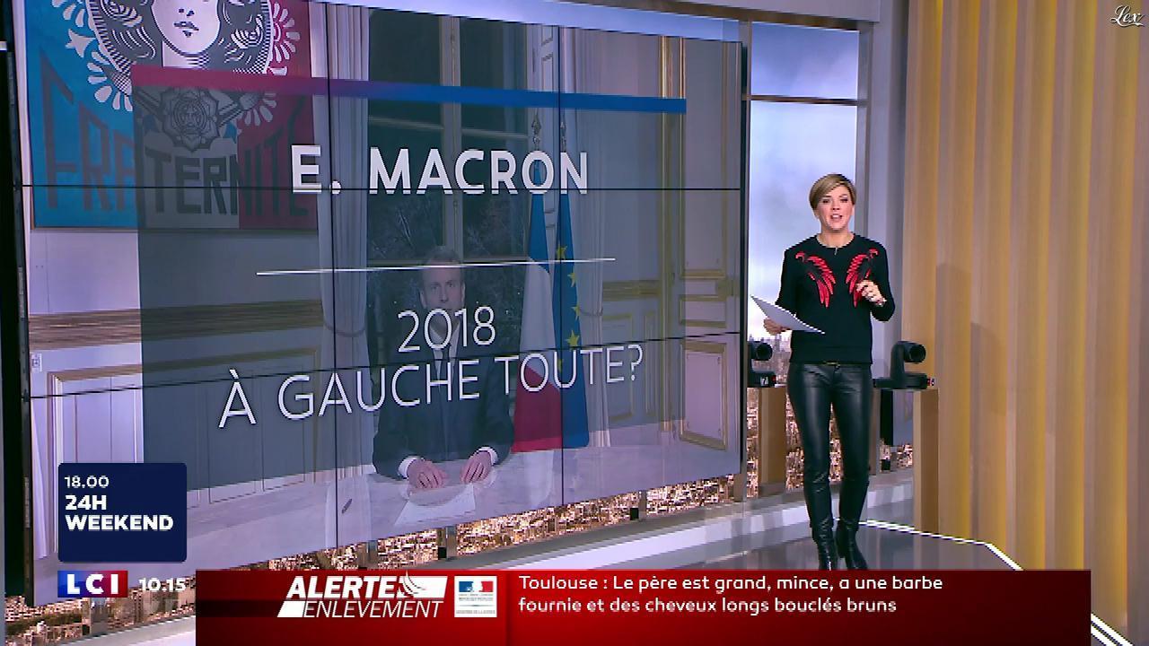 Bénédicte Le Chatelier dans le Brunch. Diffusé à la télévision le 06/01/18.