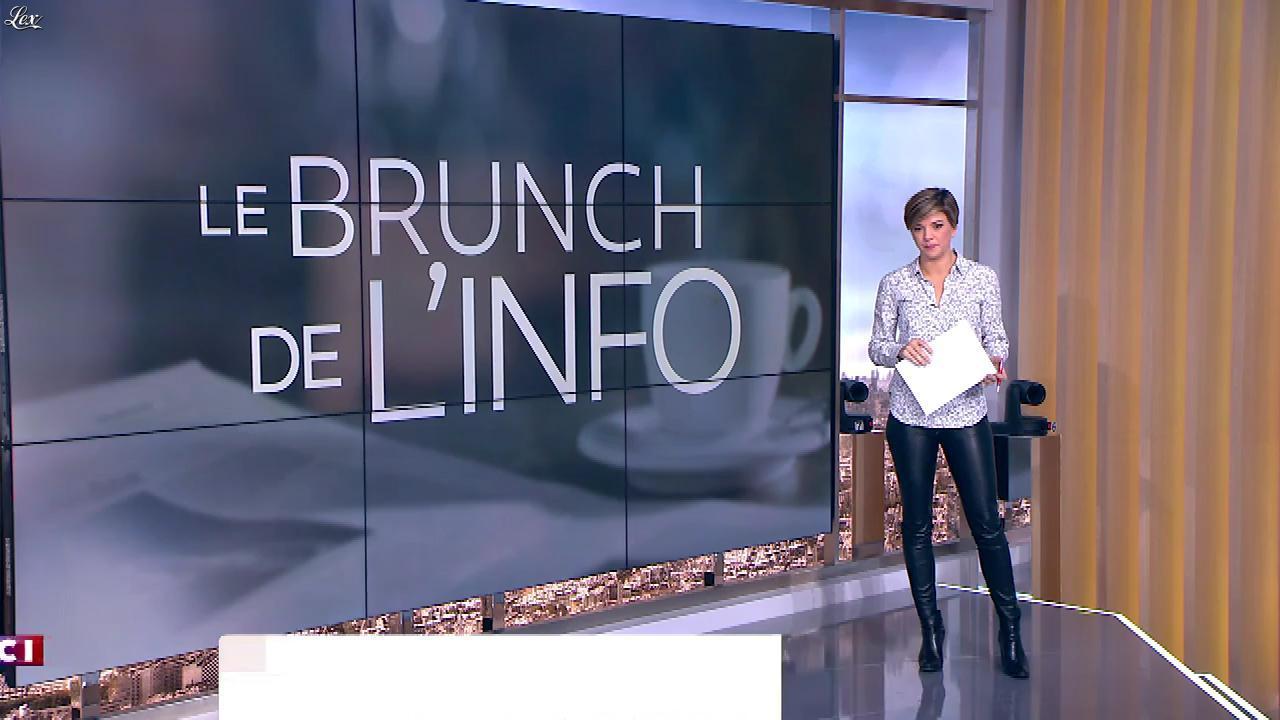 Bénédicte Le Chatelier dans le Brunch. Diffusé à la télévision le 07/01/18.