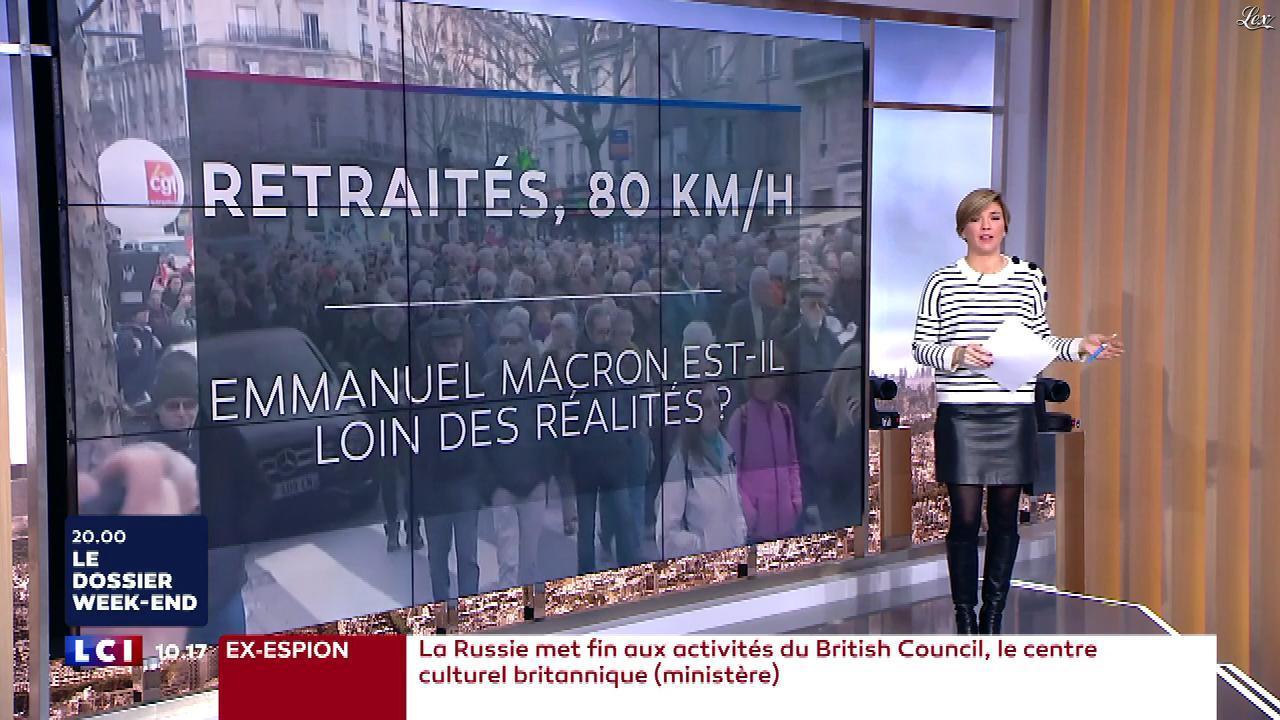 Bénédicte Le Chatelier dans le Brunch. Diffusé à la télévision le 17/03/18.
