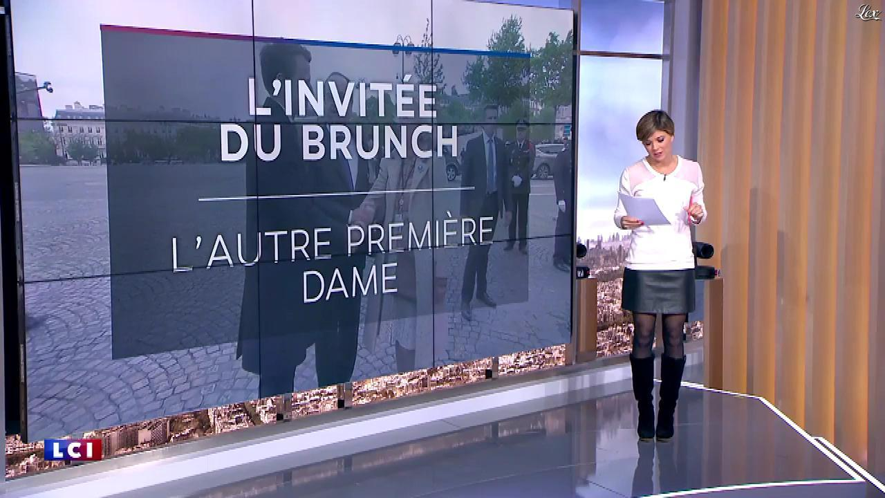 Benedicte Le Chatelier dans le Brunch de l'Info. Diffusé à la télévision le 04/11/17.