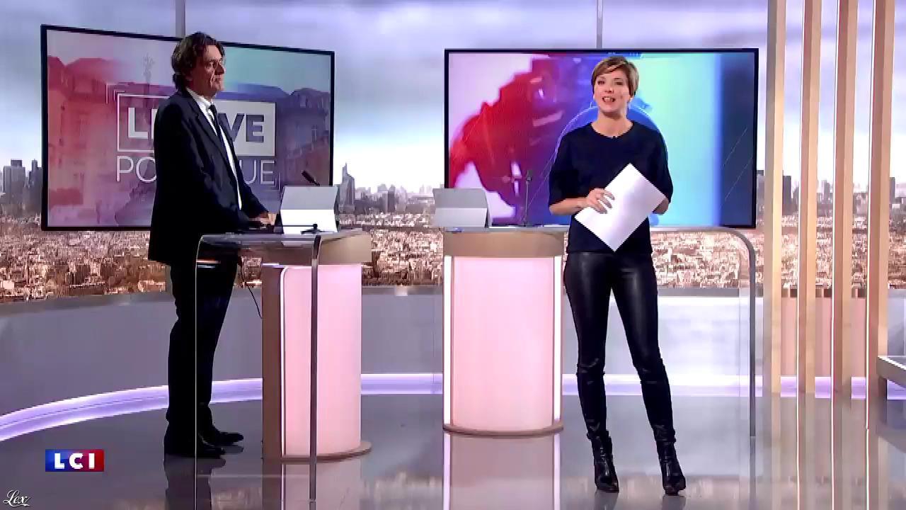 Benedicte Le Chatelier dans le Live Politique. Diffusé à la télévision le 07/01/18.